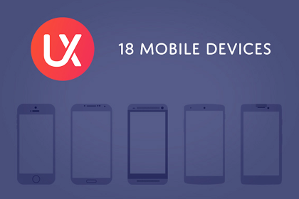 UX Kits Mobile Devices By Eric Miller Design