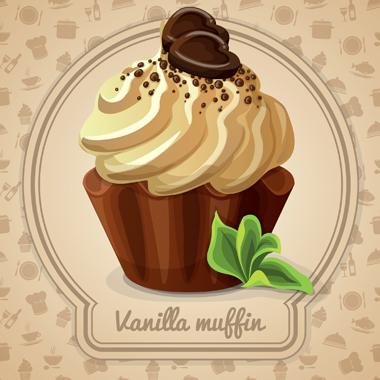 مافین وانیلی / Vanilla Muffin