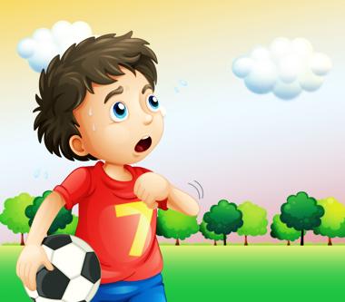 پسر و توپ فوتبال / Boy & Soccer Ball