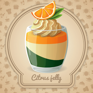 ژله مرکبّات / Citrus Jelly