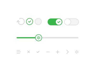 کیت رابط کاربری صاف و تخت / Flat UI Kit