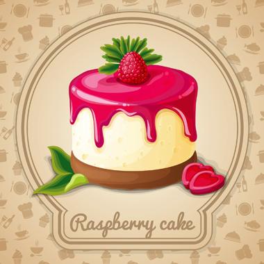 کیک رزبری / Raspberry Cake