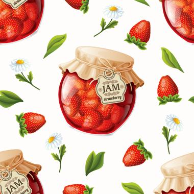 مربّای توتفرنگی / Strawberry Jam