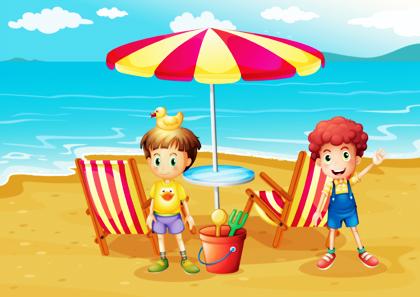 پسران در ساحل / Boys In The Beach