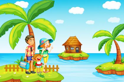 خانواده در جزیره / Family In The Island