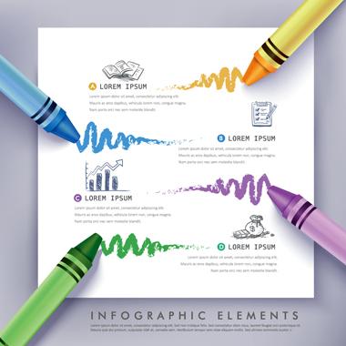 عناصر اینفوگرافیک / Infographic Elements