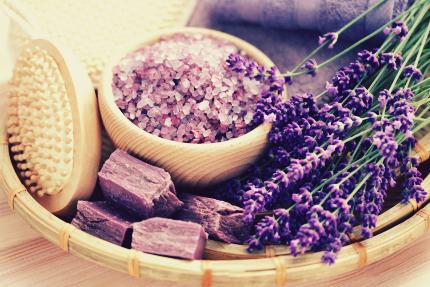 سنگهای درمانی ارغوانی / Purple Spa