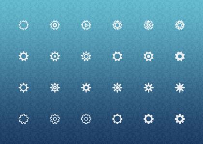 آیکونهای تنظیمات / Settings Icons