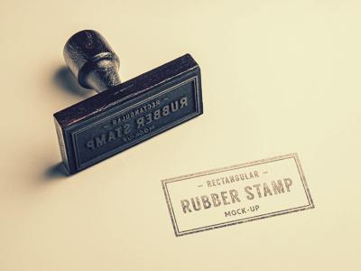 مهر لاستیکی / Rubber Stamp