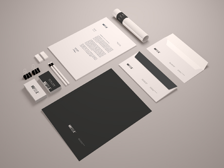 Stationary Mockup By blugraphic