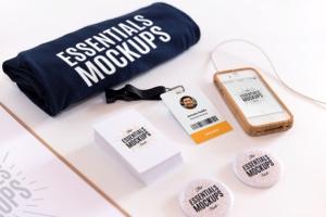 پیکرنماهای وسایل ضروری / Essentials Mockups