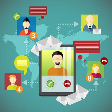 کاربران شبکه اجتماعی جهانی / Global Social Network Users