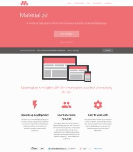 Materialize - Material Design Framework