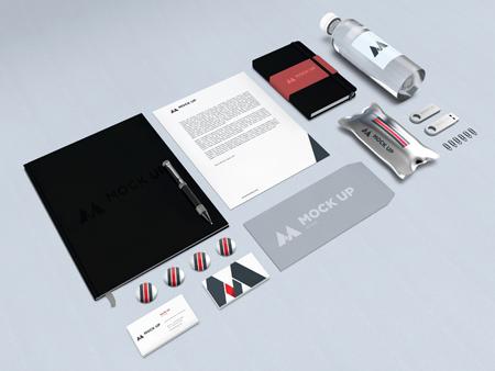 Branding Identity Mockup By Javier Torres