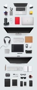 ملزومات میز طراّح / Designer Desk Essentials