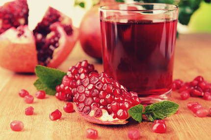 انار آبدار / Juicy Pomegranate