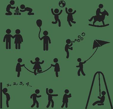 سایههای کودکان / Silhouettes Of Children