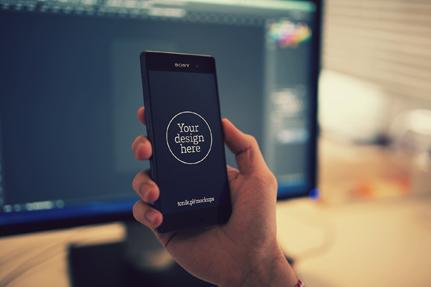 Sony Xperia™ Z3 Mockups