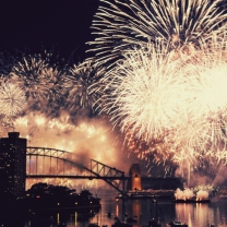 جشن سال نو میلادی - سیدنی ( استرالیا )