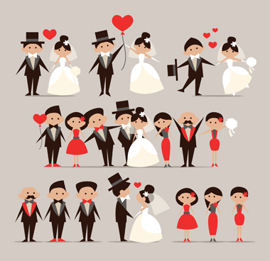 Wedding Couples By Freepik