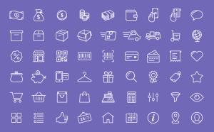 آیکونهای تجارت الکترونیکی / eCommerce Icons