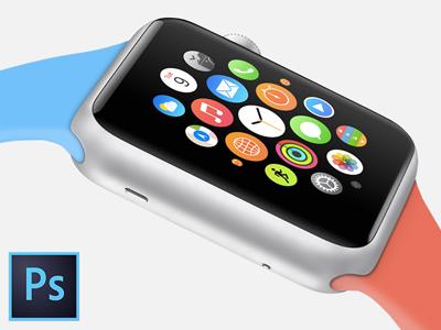 ساعت اپل - طرح ورزشی / Apple Watch - Sport Edition