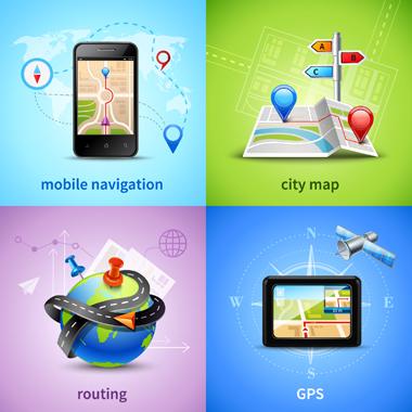 موقعیتیابی و مسیریابی / Positioning & Routing