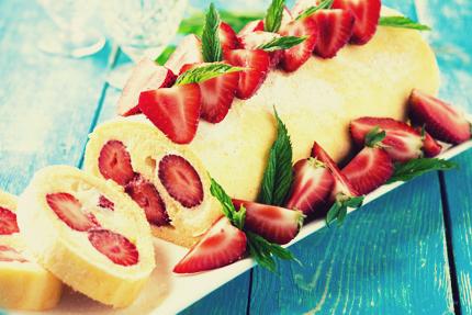 کیک رولت / Roll Cake