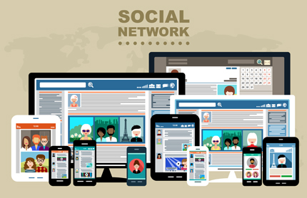 شبکه اجتماعی / Social Network