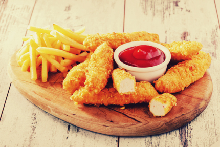 فیله استریپس / Chicken Strips
