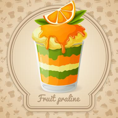 پرالین میوهای / Fruit Praline