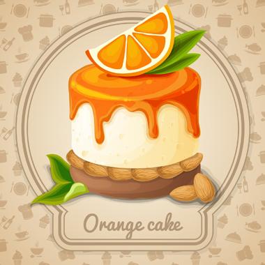 کیک پرتقالی / Orange Cake