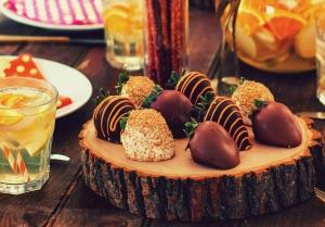 توتفرنگیهای شکلاتی / Chocolate Strawberries