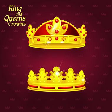 تاجهای پادشاه و ملکه / King & Queen Crowns