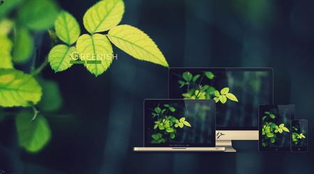 برگهای سبز / Greenish