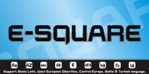 E-Square Catalog / By StudioTypo