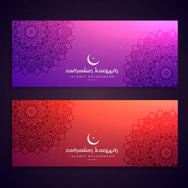 بنرهای رمضان کریم / Ramadan Kareem Banners
