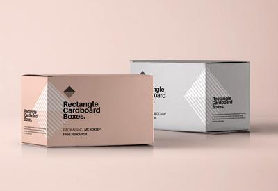 جعبههای مقوایی مستطیلی / Rectangular Cardboard Boxes