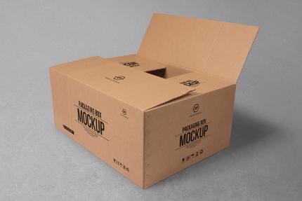 جعبه کارتنی / Cardboard Box