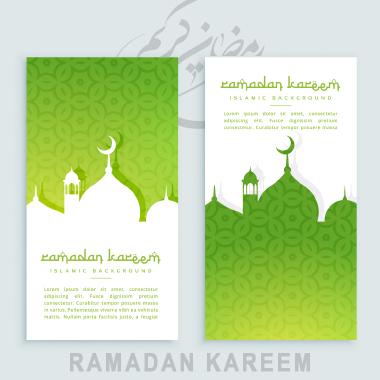 بنرهای عمودی جشن رمضان / Ramadan Festival Vertical Banners