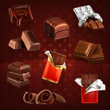 شکلاتهای کاکائویی