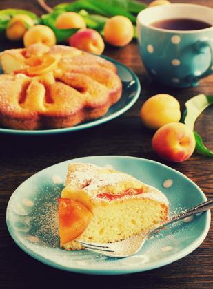 پای با هلوهای تازه / Pie With Fresh Peaches