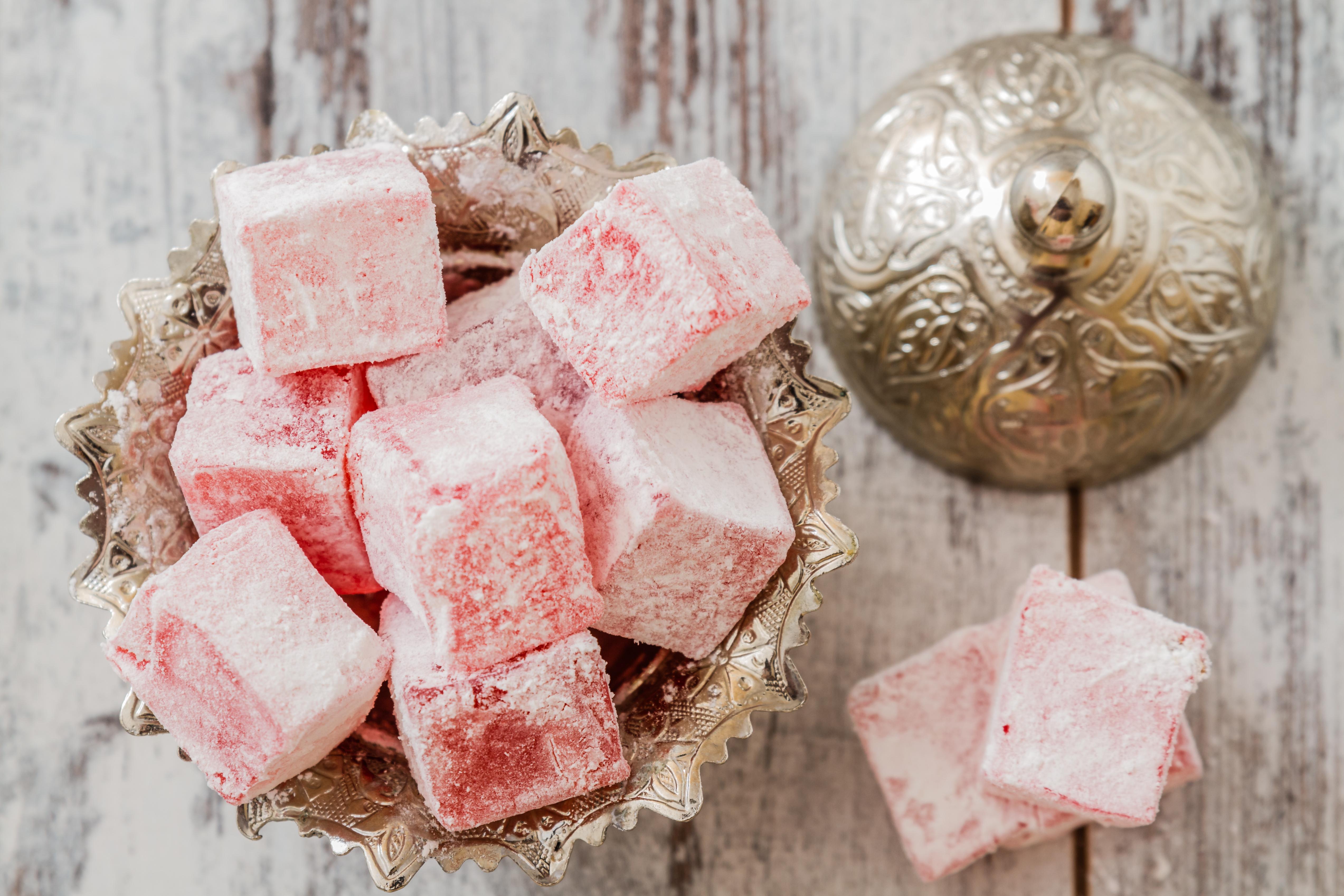 for Divan rose turkish delight