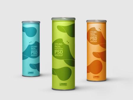 بستهبندی استوانهای / Cylindrical Packaging