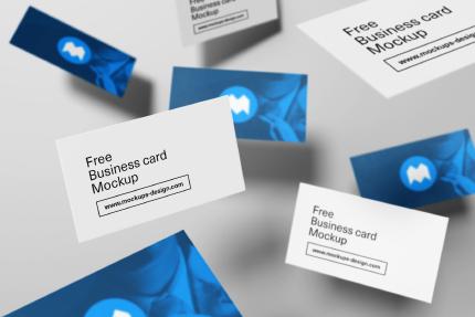 کارت ویزیتهای معلّق / Flying Business Cards