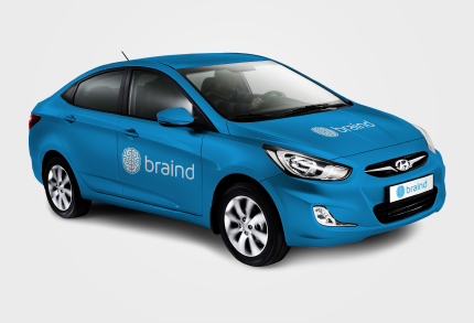 Hyundai Solaris Car / By Braind.am